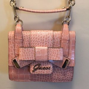 Brand New Guess Pink Bow Purse